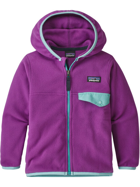 Patagonia Kids Micro D Snap-T Jacket Ikat Purple